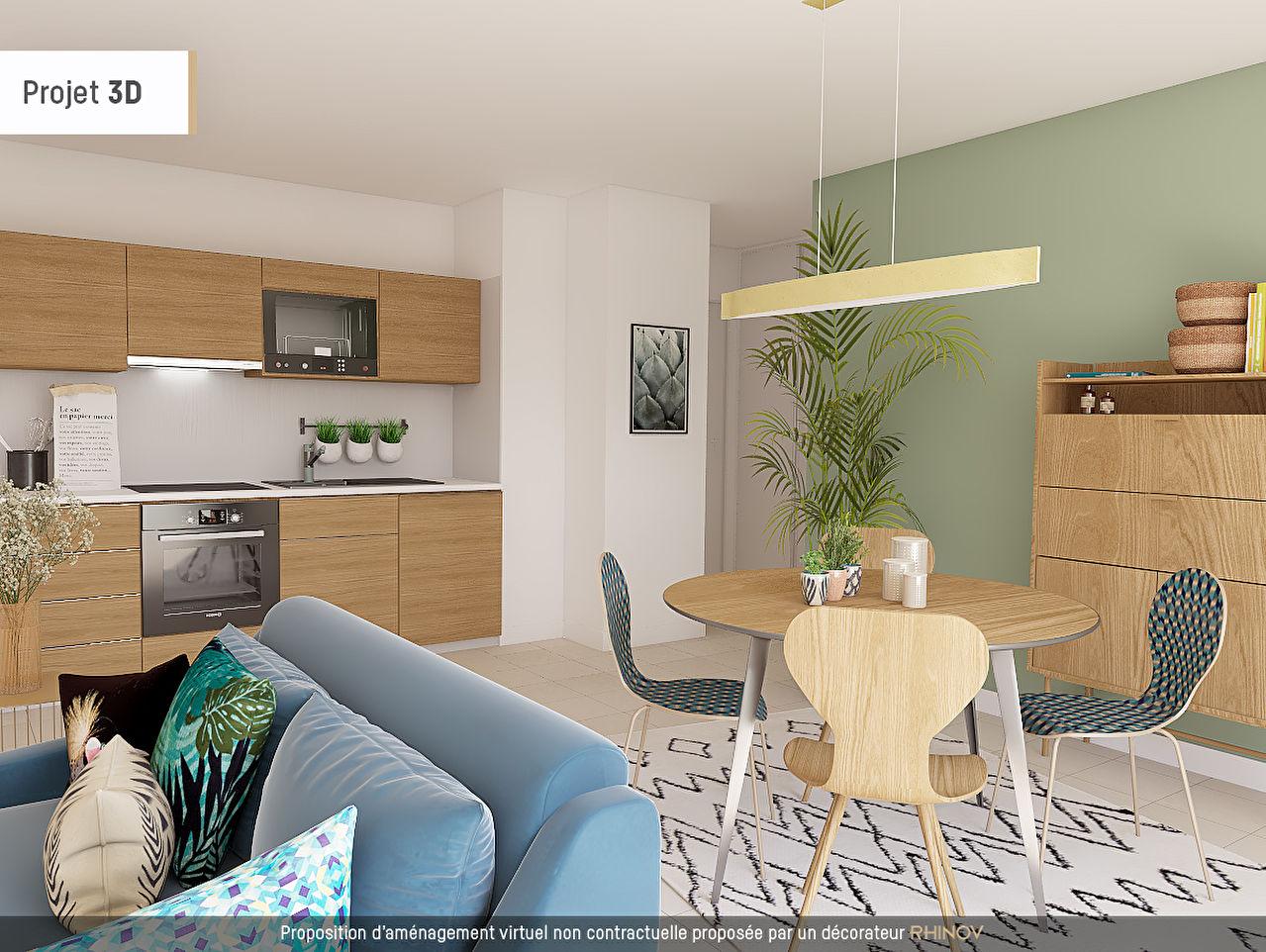 appartement a vendre toulouse 3 pi ces 52 m era groupe toulouse. Black Bedroom Furniture Sets. Home Design Ideas